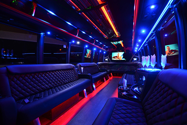 40 passenger party bus rental   buffalo